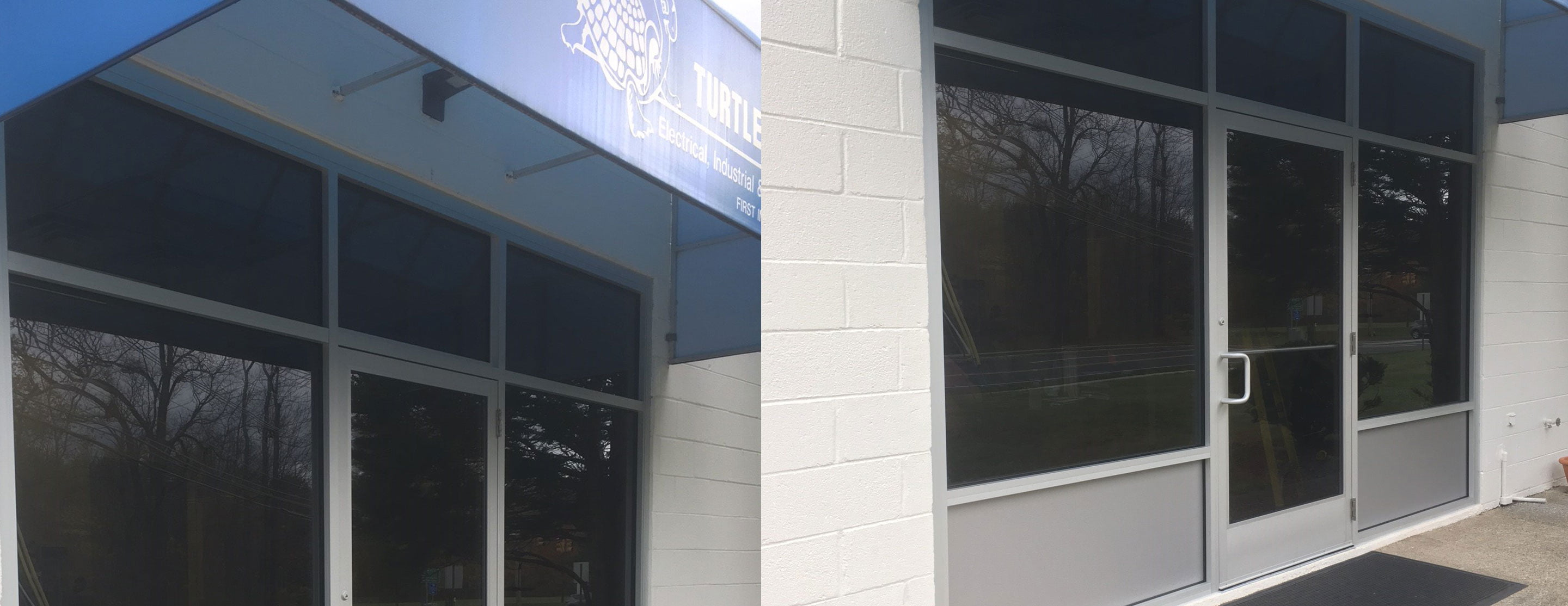 Custom Storefront Glass For Turtle And Hughes In Whippany